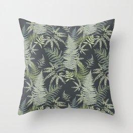 Ferns 1 Throw Pillow
