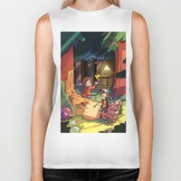 gravity falls Biker Tanks featuring Gravity Falls by Izzy