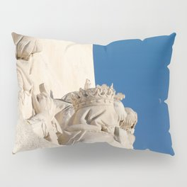 Monument of the Discoveries detail Pillow Sham
