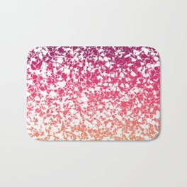 Terrazzo in pink, purple and yellow colors Bath Mat