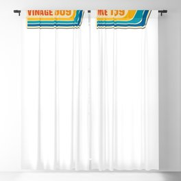 Vintage 1969 50th Birthday Blackout Curtain