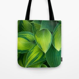 Hosta Camouflage Tote Bag