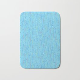 Pastel Party Streamers Vector Pattern Bath Mat