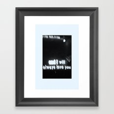 Karaoke Framed Art Print