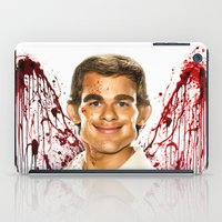 dexter iPad Cases featuring Dexter by Giampaolo Casarini
