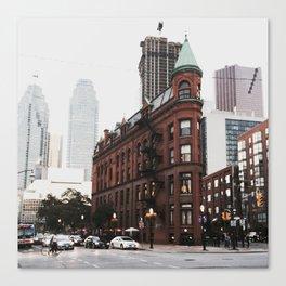 The Gooderham Building Canvas Print