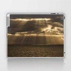 Golden rain Laptop & iPad Skin