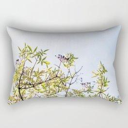 Summer branches Rectangular Pillow