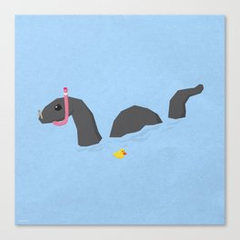 Accidental Legends: Loch Ness Canvas Print