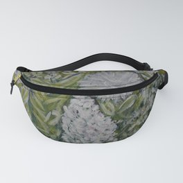 White and Yellow Wild Flowers Fanny Pack