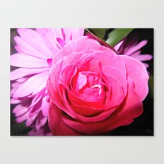 Accept The Thorn In Which It Bears Canvas Print