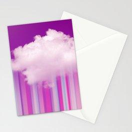 Raining Lines Stationery Cards