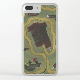Dismembered Clear iPhone Case