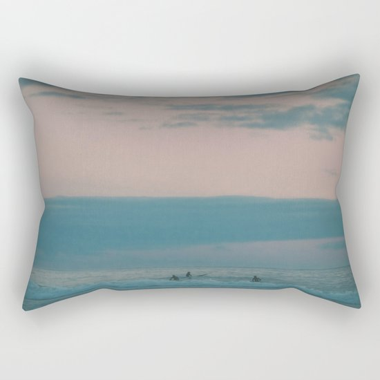 Sunset Surf Rectangular Pillow