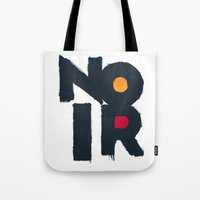 noir Tote Bags featuring Noir by sonsofwolves