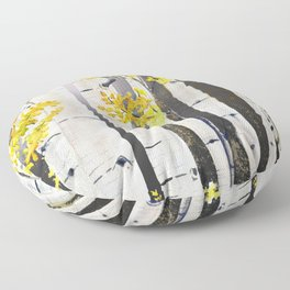Birch Tree Floor Pillow