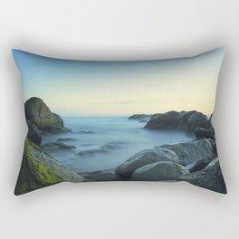 Milky Ocean II Rectangular Pillow
