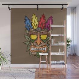 Tiki Aku Aku Wall Mural