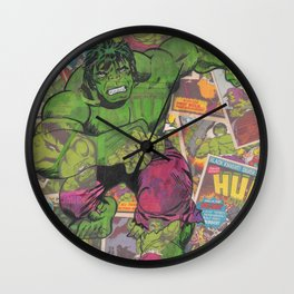 The Hulk Vintage Comic Art Wall Clock