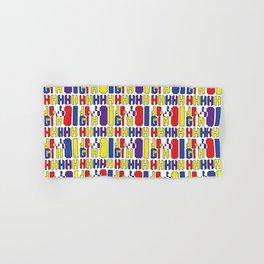 A rainbow colorful African prints Hand & Bath Towel