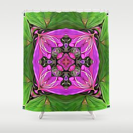 Gates of Initiation Shower Curtain