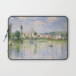 Vetheuil in Summer 1880 by Claude Monet Laptop Sleeve