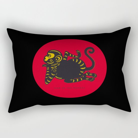 Year of the Monkey Rectangular Pillow