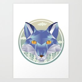 The Fox Art Print