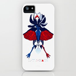 LOTUSCRANE iPhone Case