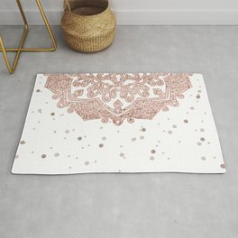 Peaceful showers Rug