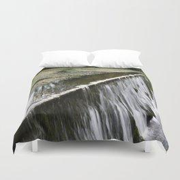 Water falling Duvet Cover