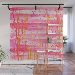 Confetti Abstract High Flow Acrylic Painting Wall Mural
