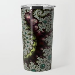 Caterpillar Fractal Travel Mug