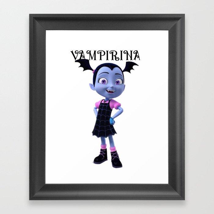 VAMPIRINA Gerahmter Kunstdruck