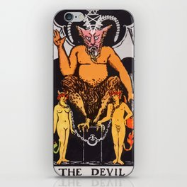 15 - The Devil iPhone Skin