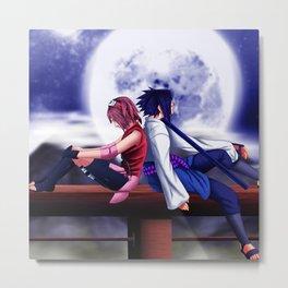 sakura and sasuke Metal Print