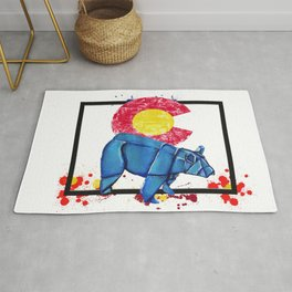 Paper Co Bear- Wild World Of Paper Series Rug