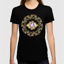 Decorative Background with Amethyst T-shirt