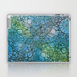 Detail of watercolour pattern Laptop & iPad Skin