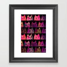 cat-255 Framed Art Print