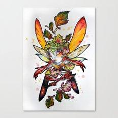 Chrysantheme Fairy Canvas Print
