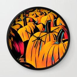 poppin pumpkins! Wall Clock