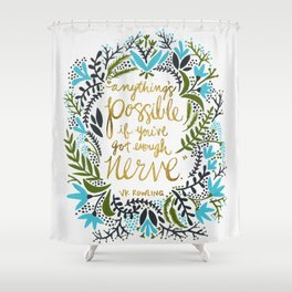 Anything's Possible Shower Curtain
