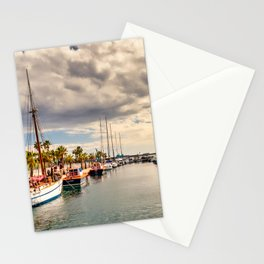 Harbour at Cartagena Stationery Cards