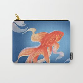 Goldfish Katie blue Carry-All Pouch