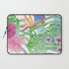 Malia's Tropical Print Laptop Sleeve