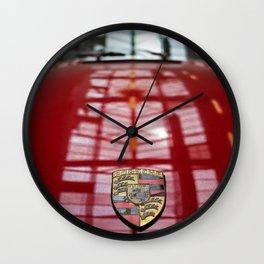 Porsche 911 / I Wall Clock