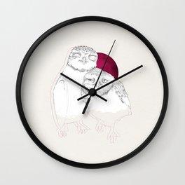 HIBOUX Wall Clock