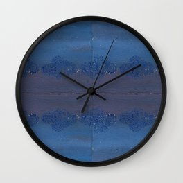 Influence from India Wall Clock