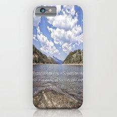 Colorado Mountains iPhone 6s Slim Case